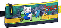 Школьный пенал мягкий на молнии 641 Adventure Time