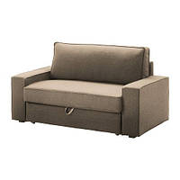 "IKEA ""ВИЛАСУНД / МАТТАРП"" Диван-кровать 2-местный, Дансбу бежевый, фото 1"