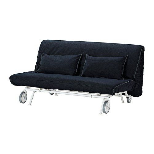 """IKEA """"ИКЕА/ ПС ЛЁВОС"""" Диван-кровать 2-местный, Ванста темно-синий"""