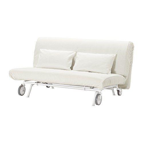 """IKEA """"ИКЕА/ ПС ЛЁВОС"""" Диван-кровать 2-местный, Грэсбу белый"""