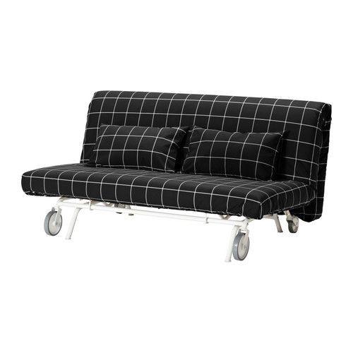 """IKEA """"ИКЕА/ ПС ЛЁВОС"""" Диван-кровать 2-местный, Руте черный"""