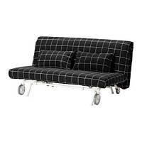"""IKEA """"ИКЕА/ ПС ЛЁВОС"""" Диван-кровать 2-местный, Руте черный, фото 1"""