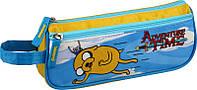 Школьный пенал мягкий на молнии 643 Adventure Time