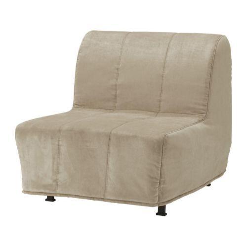 """IKEA """"ЛИКСЕЛЕ ЛЁВОС"""" Кресло-кровать, Хенон бежевый"""