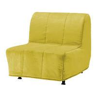 """IKEA """"ЛИКСЕЛЕ ЛЁВОС"""" Кресло-кровать, Хенон желтый, фото 1"""