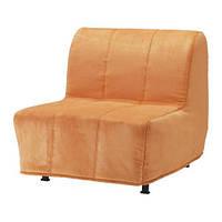 """IKEA """"ЛИКСЕЛЕ ЛЁВОС"""" Кресло-кровать, Хенон оранжевый"""
