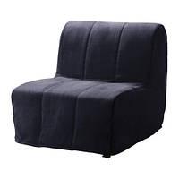 """IKEA """"ЛИКСЕЛЕ ЛЁВОС""""Кресло-кровать, Хенон черный"""