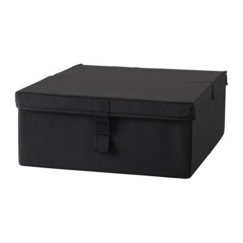 """IKEA """"ЛИКСЕЛЕ"""" Ящик для кресла-кровати, черный"""