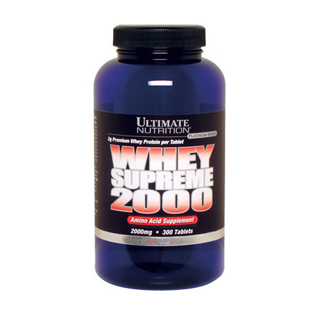 Аминокислотный комплекс Ultimate Nutrition Whey Supreme 2000 300 tabs