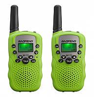 Рация Baofeng MiNi BF-T2 PMR446 2шт Green