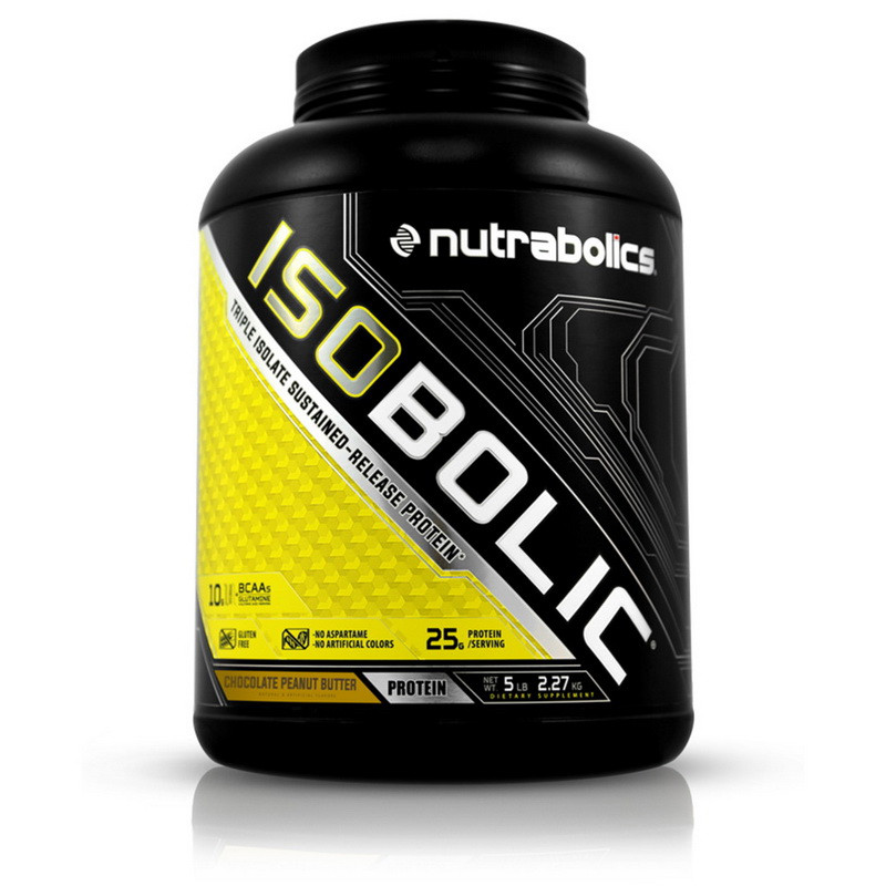 Сывороточный протеин NutraBolics Isobolic 2,27 kg
