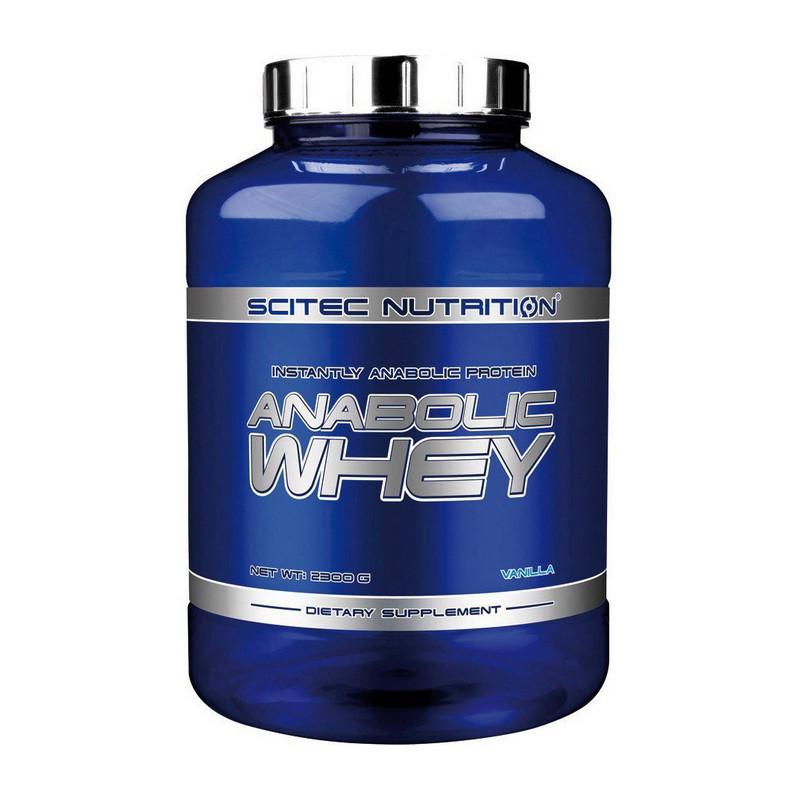Сывороточный протеин Scitec Nutrition Anabolic Whey 2,3 kg