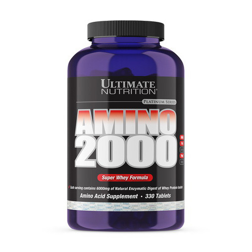 Аминокислотный комплекс Ultimate Nutrition Amino 2000 330 tabs