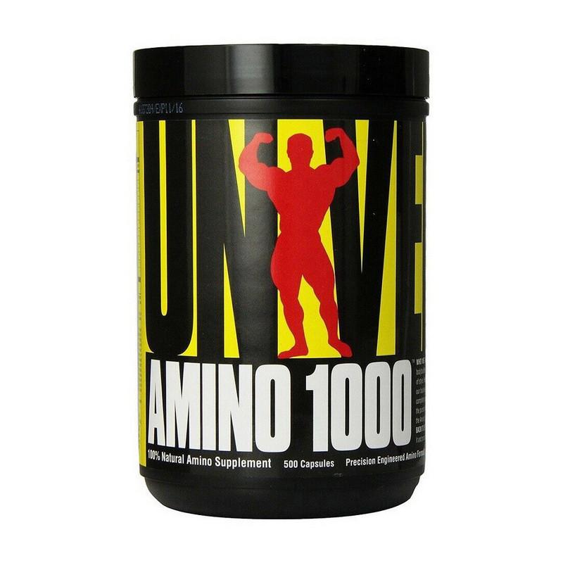 Аминокислотный комплекс Universal Amino 1000 500 caps