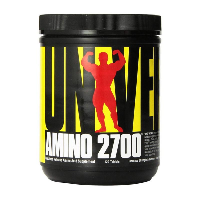 Аминокислотный комплекс Universal Nutrition AMINO 2700 (120 tabl)