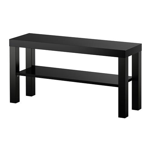 """IKEA """"ЛАКК"""" Тумба под ТВ, черный (90*26*45)"""