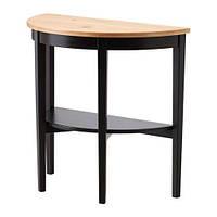 """IKEA  """"АРКЕЛЬСТОРП"""" Приоконный стол, черный"""