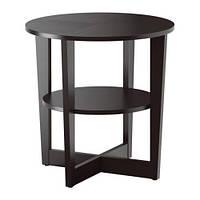 """IKEA """"ВЕЙМОН"""" Придиванный столик, черно-коричневый, фото 1"""