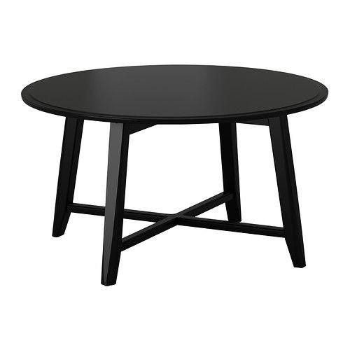 """IKEA """"КРАГСТА"""" Журнальный стол, черный"""