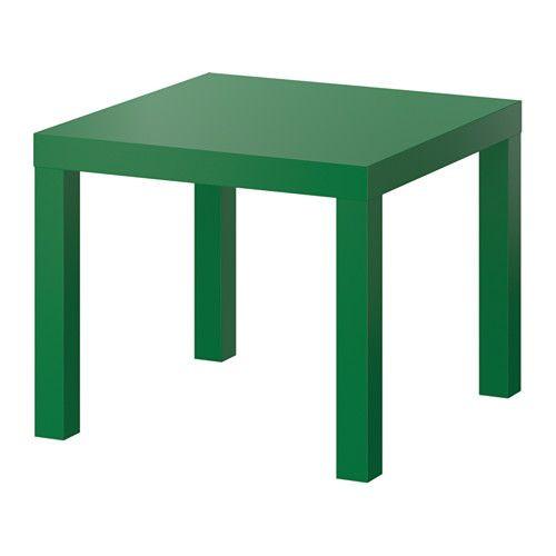 """IKEA """"ЛАКК"""" Придиванный столик, зеленый"""