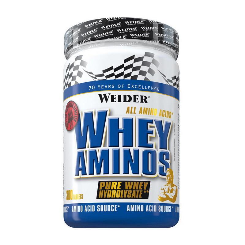 Аминокислотный комплекс Weider Whey Aminos 300 tabs