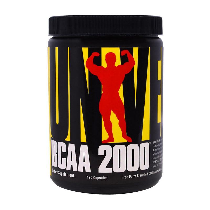 Universal Nutrition BCAA 2000 (120 caps)