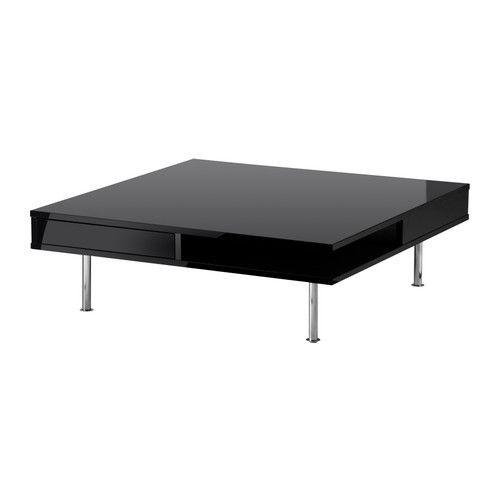 """IKEA """"ТОФТЕРИД""""  Журнальный стол, глянцевый черный"""