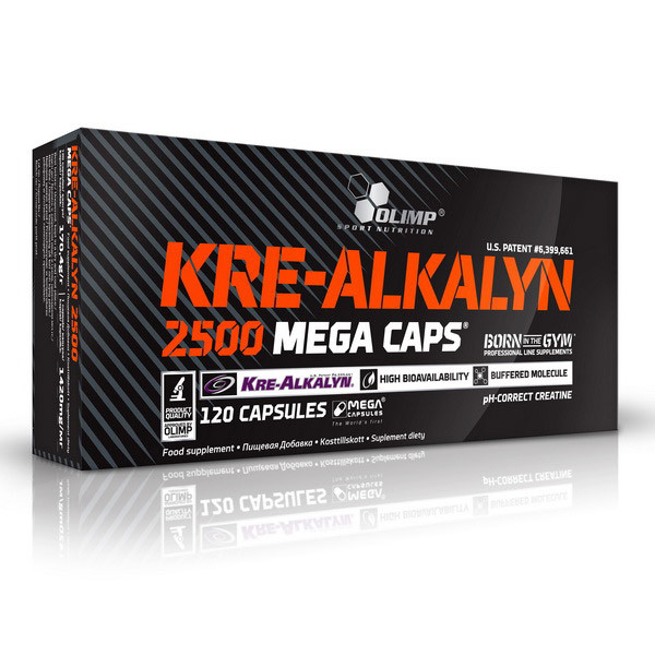 Креатин Креалкалин OLIMP Kre-Alkalyn 2500 120 caps