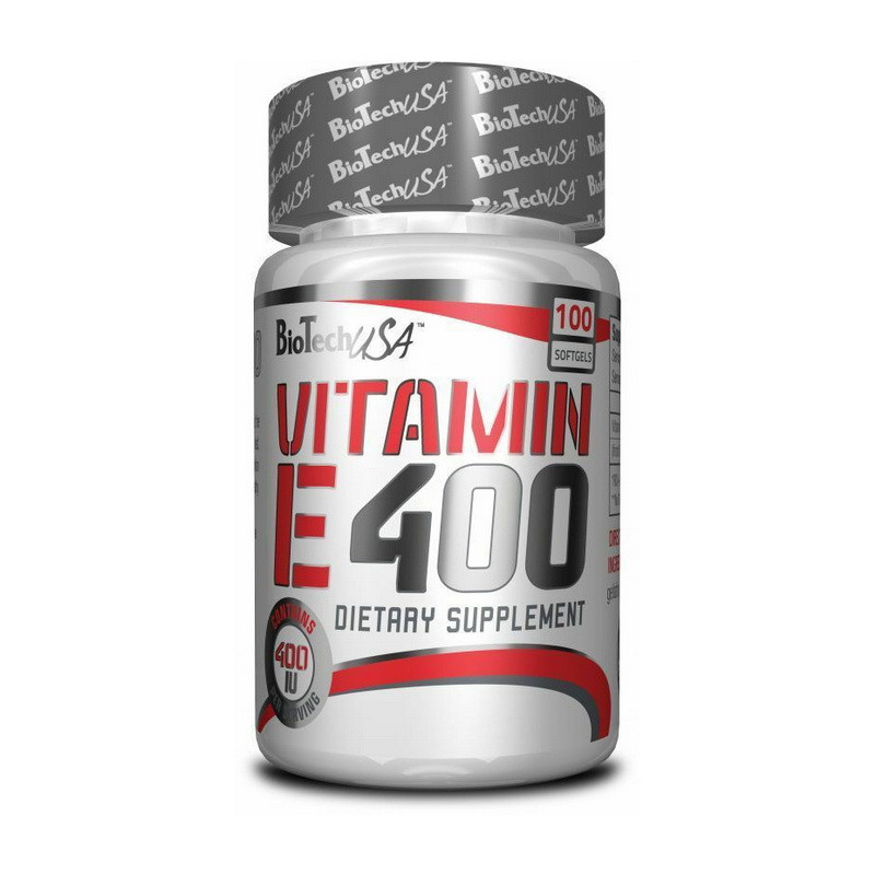 Витамин Е BioTech Vitamin E 400 100 softgels