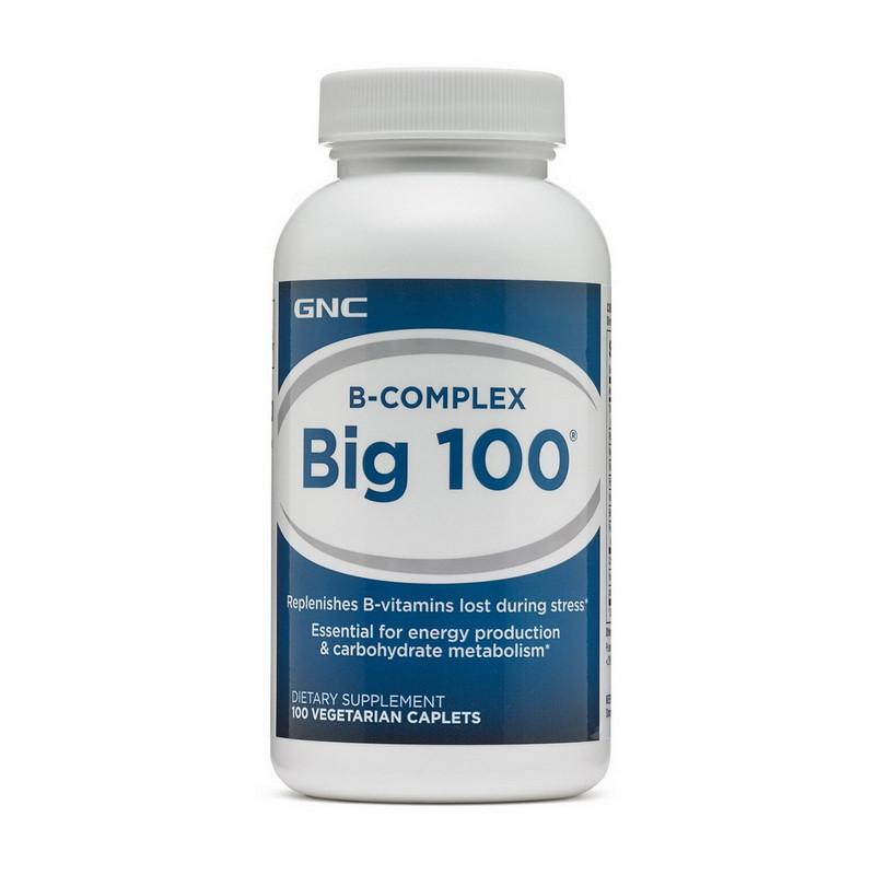Витамин B GNC Big 100 100 veg tab