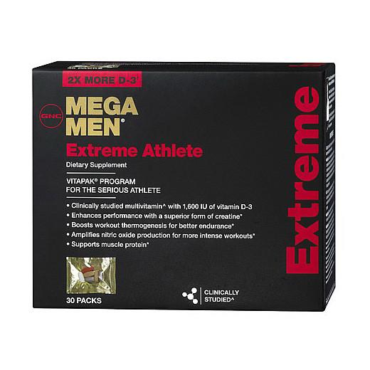 Витамины для мужчин GNC Mega Men Extreme Athlete 30 packs