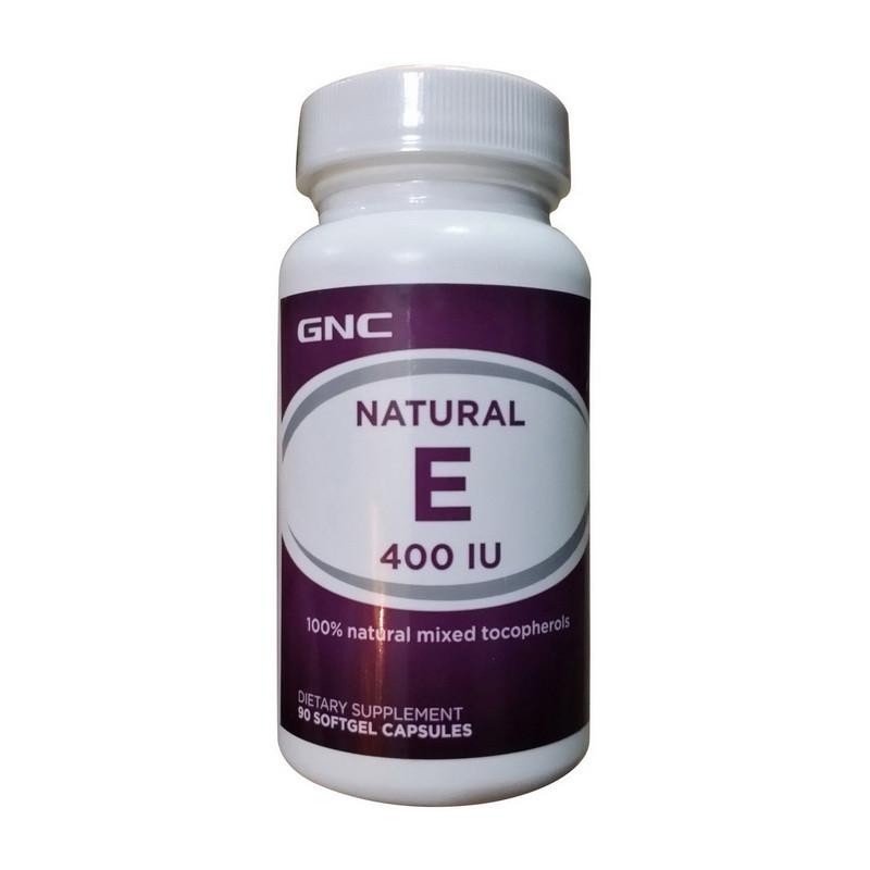 Витамин Е GNC Natural E 400 90 caps