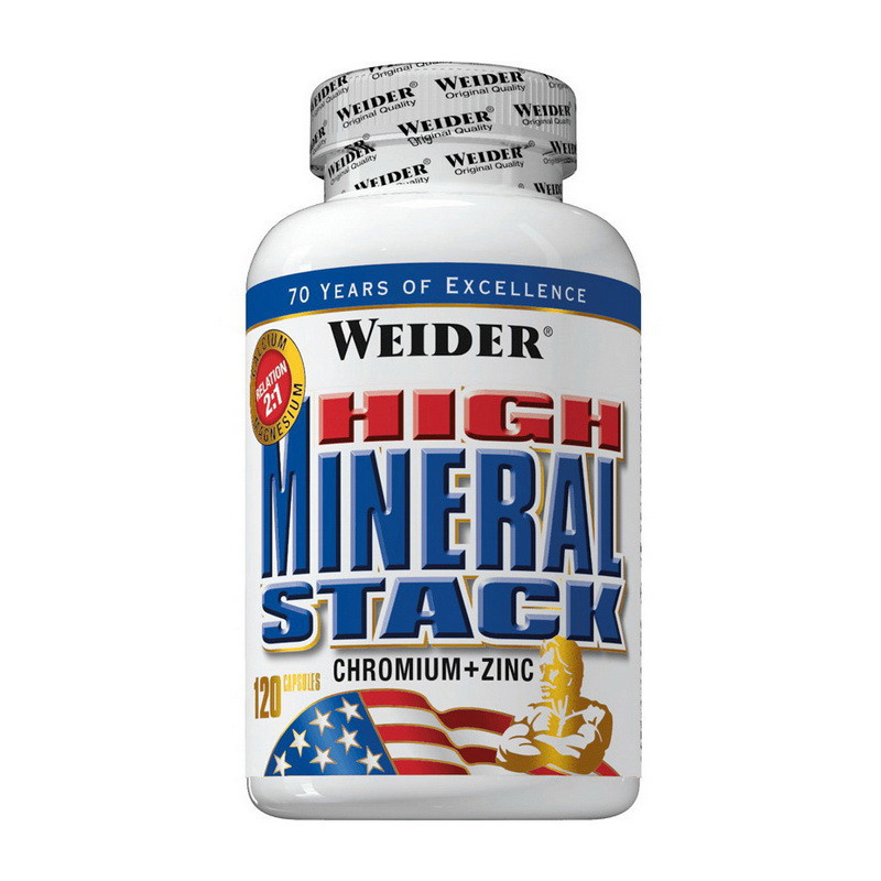 Weider High Mineral Stack (120 caps)