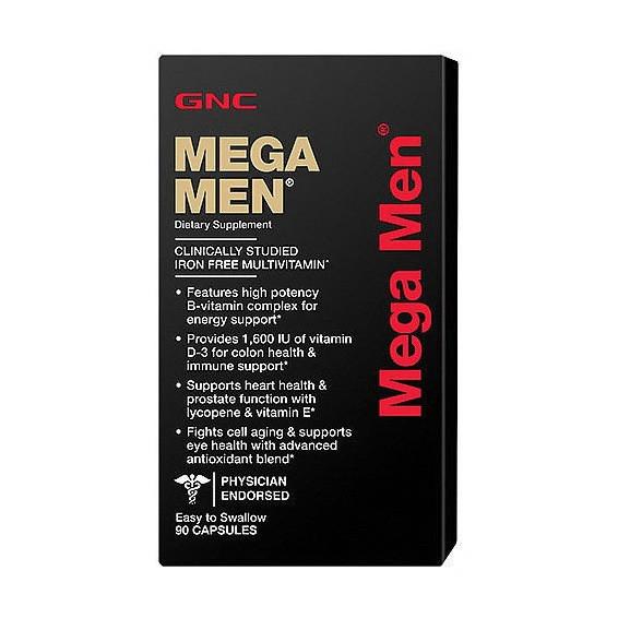 GNC MEGA MEN CAPSULES (90 caps)