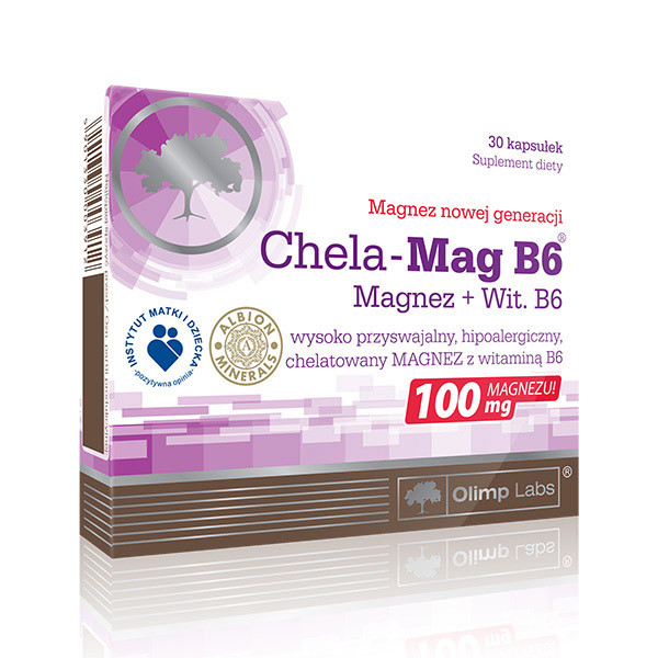 Магний Б6 OLIMP Chela-Mag B6 30 caps