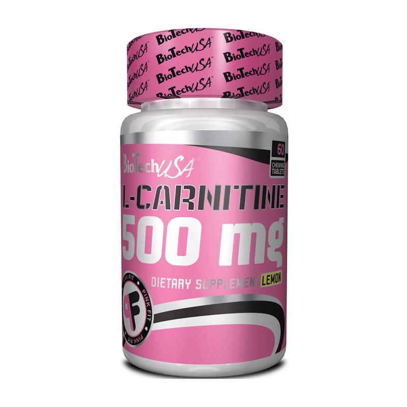 L-карнитин BioTech L-Carnitine 500 mg 60 tabs