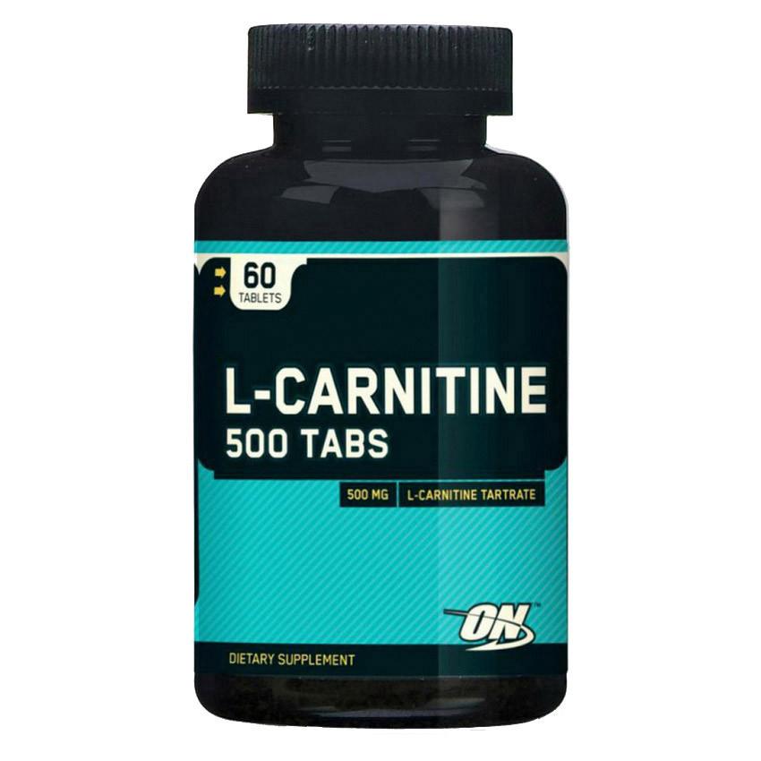 Optimum Nutrition L-carnitine 500 (60 tabl)