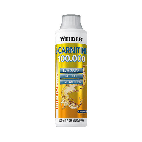 Л карнитин жидкий Weider L-Carnitine 100000 0,5 l