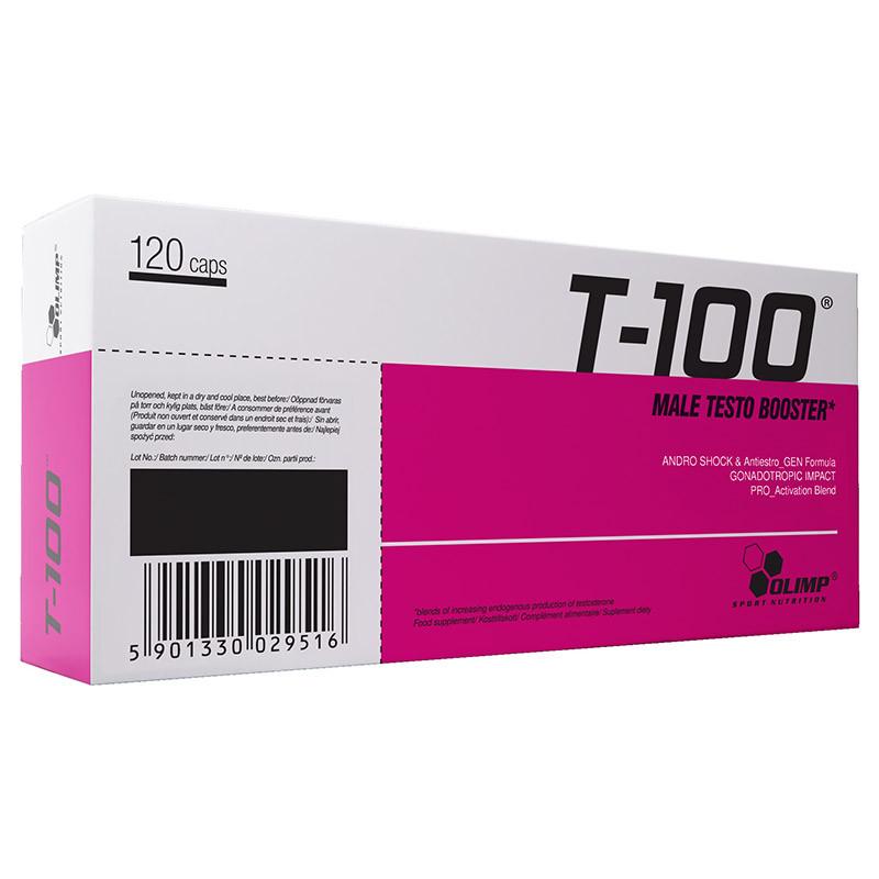 Тестостероновый бустер OLIMP T-100 Male Testo Booster 120 caps