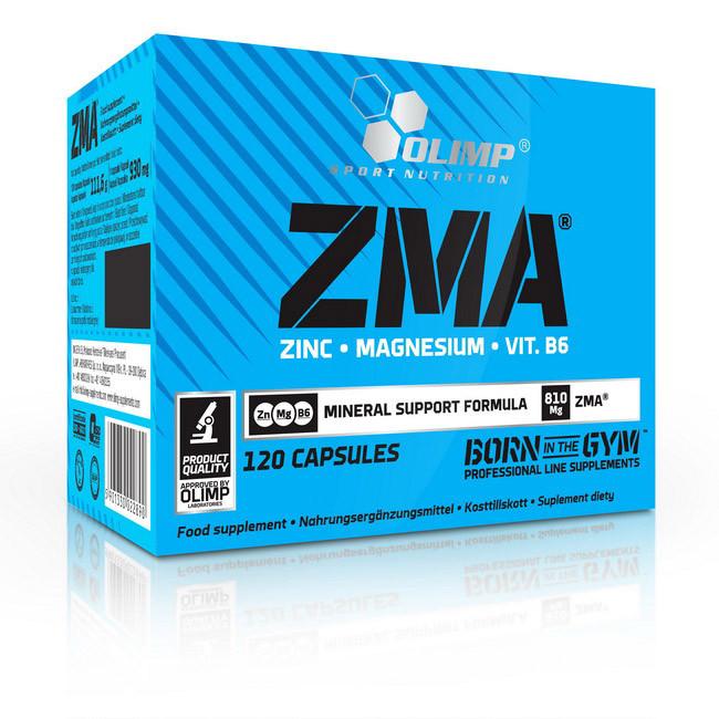 Цинк с магнием OLIMP ZMA 120 caps