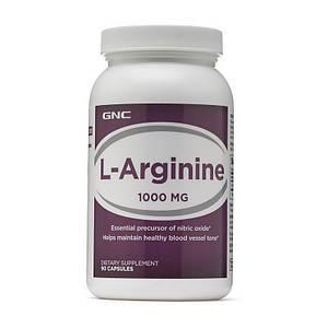 GNC L-Arginine 1000 (90 caplets)