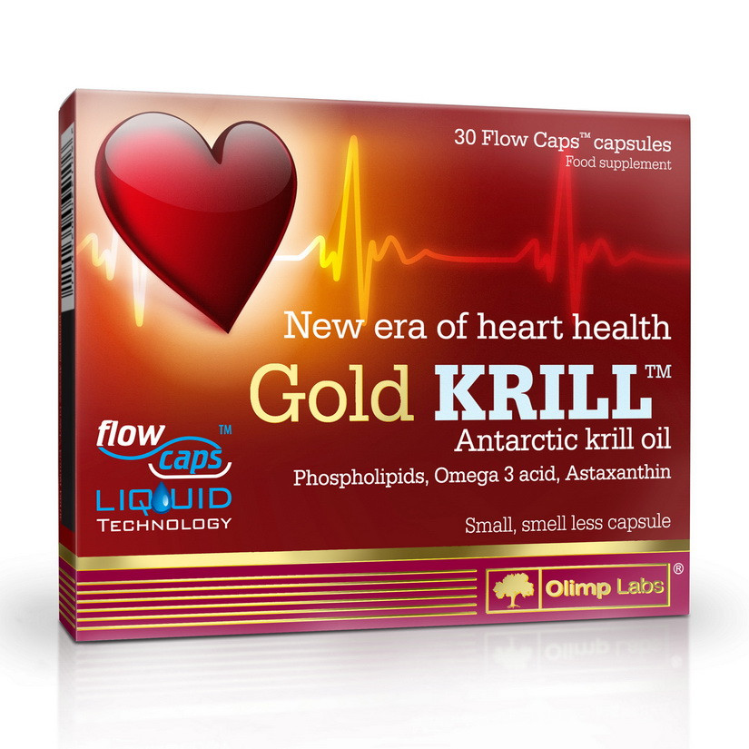 Масло криля OLIMP Gold Krill 30 caps