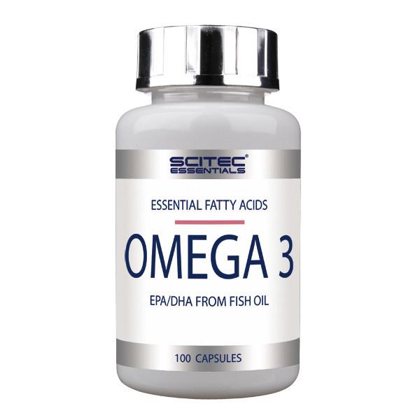 Рыбий жир, Омега 3 Scitec Nutrition Omega-3 100 caps