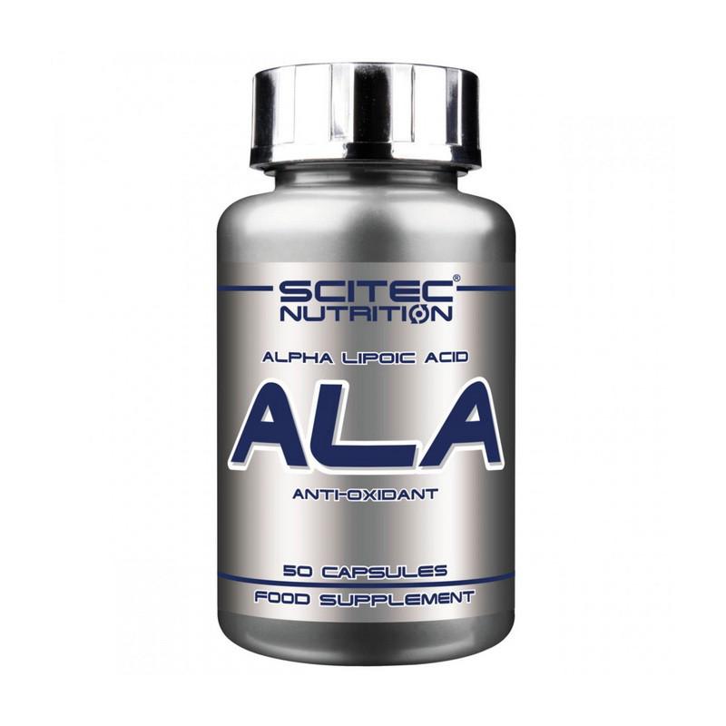 Альфа-липоевая кислота Scitec Nutrition ALA 50 caps