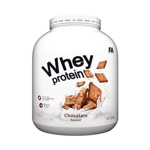 Протеин концентрат Fitness Authority Nutrition Whey Protein 2,270 kg