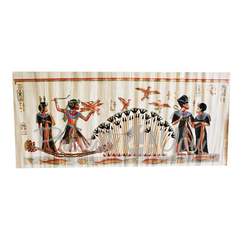 Картина на папирусе «Нил» (155х70 см) (034-2413)