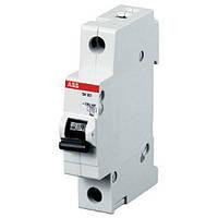 Автоматический выключатель ABB SH201-C1 (1п, 1A, Тип C, 6kA) 2CDS211001R0014