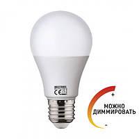 Светодиодная диммируемая лампа Horoz Electric EXPERT-10 А60 10W E27 6400K (Груша)