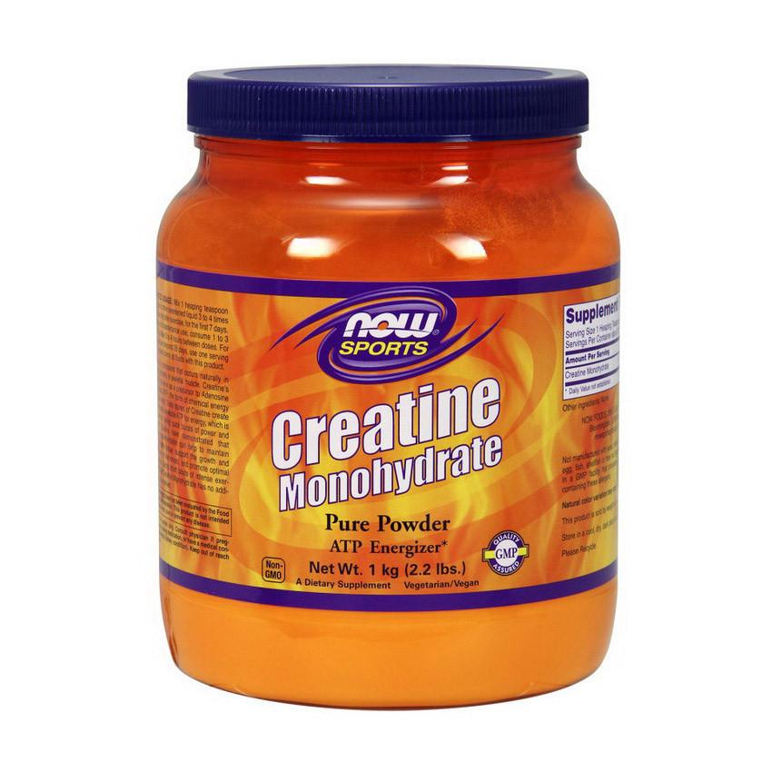 Креатин моногидрат NOW Creatine 1 kg натуральный вкус