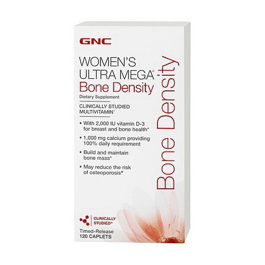 Витамины для костей GNC Womens Ultra Mega Bone Density 120 caps